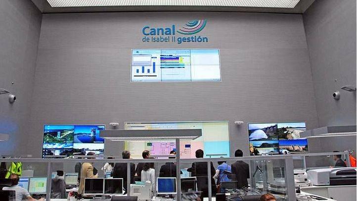 Centro Principal de Control del Canal de Isabel II. (Archivo)