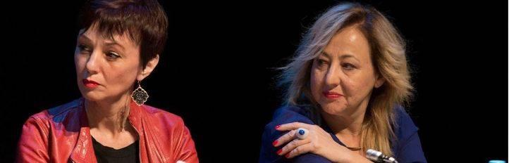 Manuela Paso y Carmen Machi. (Archivo)