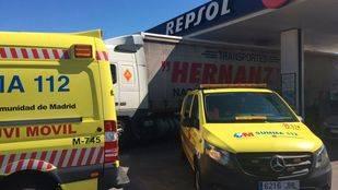 El Summa solo ha podido confirmar el fallecimiento del hombre atropellado en una gasolinera de Casarrubuelos