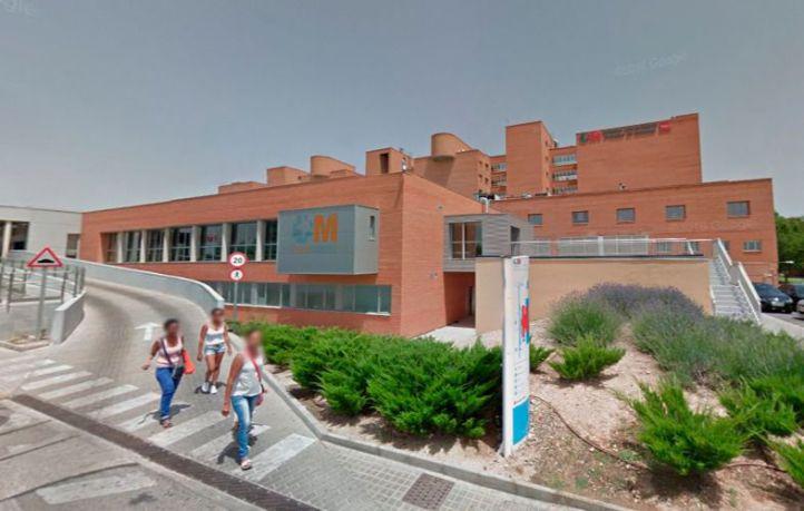 Hospital Príncipe de Asturas, en Alcalá.