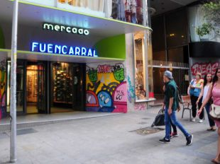 Mercado de Fuencarral en la calle del mismo nombre.