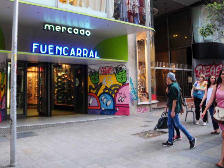 El antiguo Mercado de Fuencarral, convertido en Decathlon