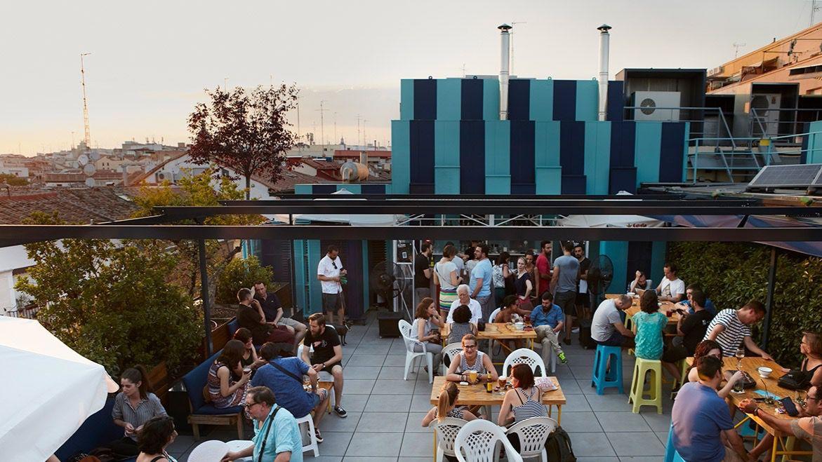 Generaci n xtasis y el pop de manu louis en la terraza - Terraza la casa encendida ...