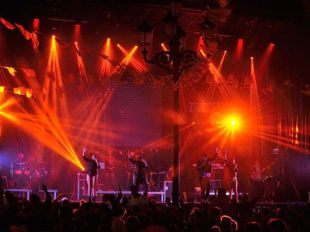 Uno de los conciertos de las fiestas de Becerril de la Sierra del año pasado