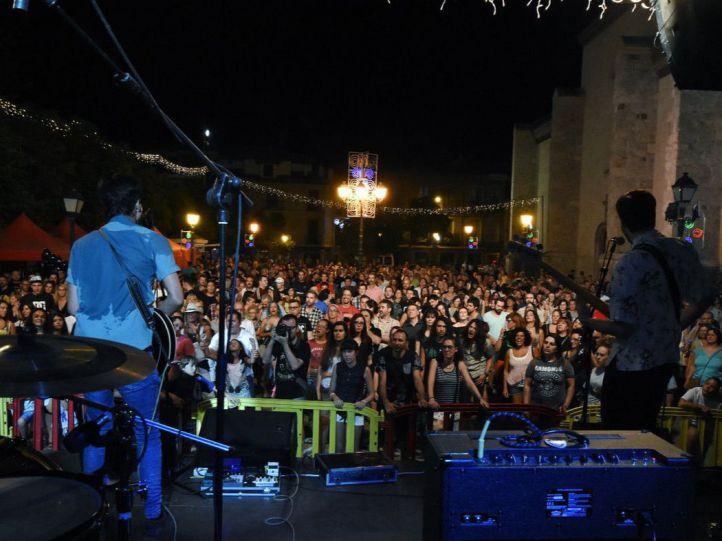 Uno de los conciertos de las fiestas de los Santos Niños en Alcalá de Henares