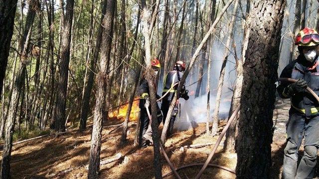 Bomberos de Ericam ayudarán a extinguir varios incendios en Portugal