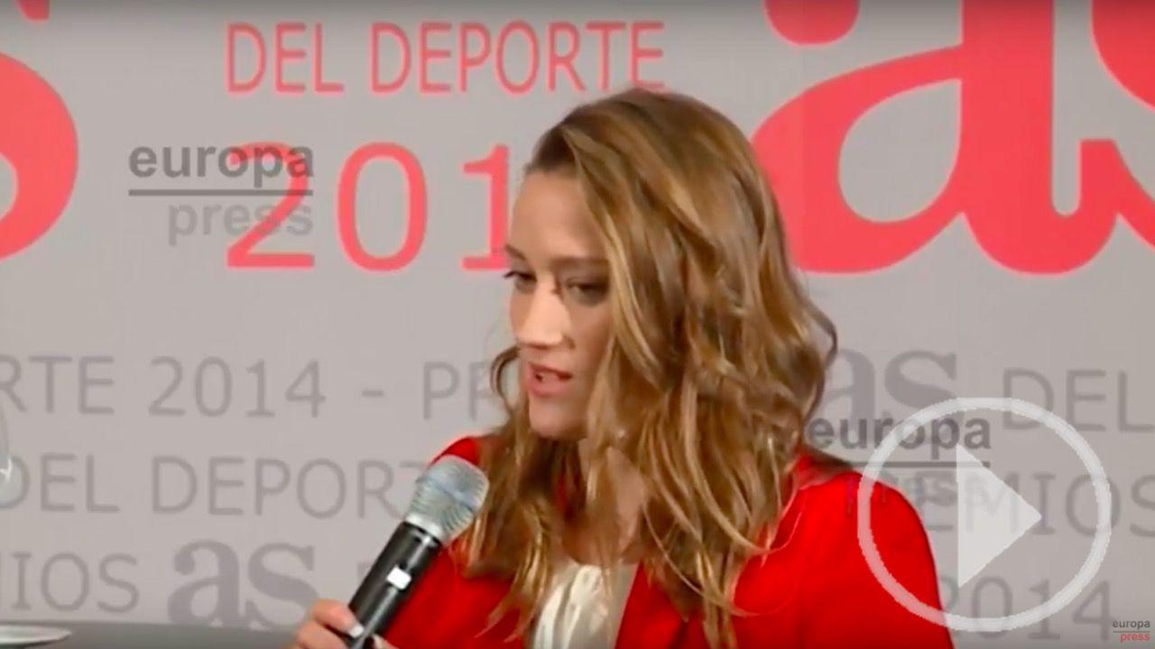 Mireia Belmonte, oro y récord mundial en 400 estilos