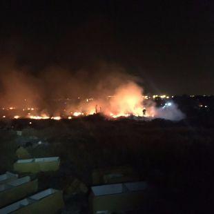 Arden 12 hectáreas de pastos en Rivas