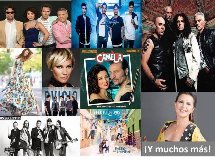 El cartel con todos los artistas que actuarán en las Fiestas Patronales de Alcorcón 2017