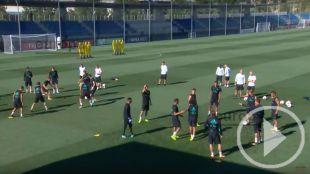 El Real Madrid se prepara la Supercopa de España