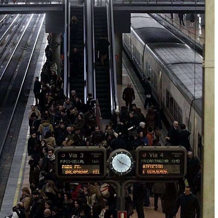 Estación de Atocha (archivo)