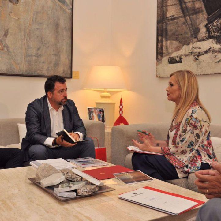 Acceso directo de Rivas con la M-50: Cristina Cifuentes mediará con Fomento