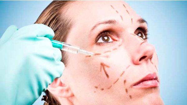 Preparación para una operación de cirugía estética