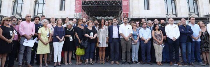 Identificados ocho miembros del Hogar Social que querían boicotear el minuto de silencio