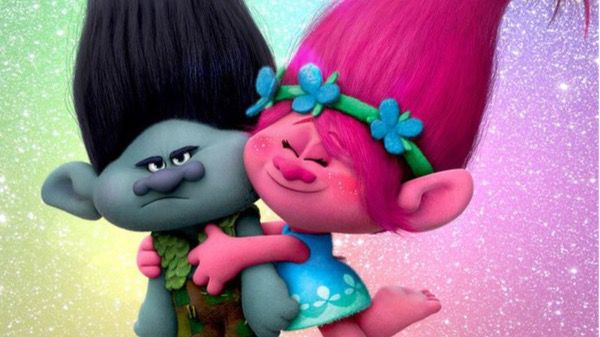 Cartel de la película 'Trolls'