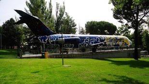 Monumento en homenaje a las víctimas del vuelo accidentado de Spanair