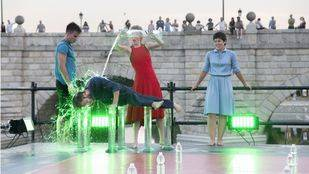 'Sumérgete', espectáculo de danza con agua de Losdedae
