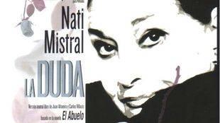 La artista Nati Mistral