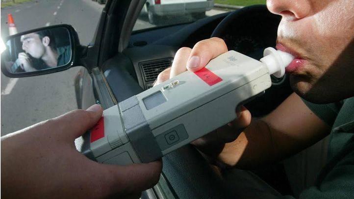 Más de 2.500 conductores dan positivo en alcohol