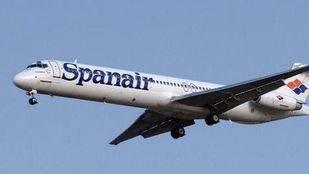 Avión de la compañía aérea Spanair
