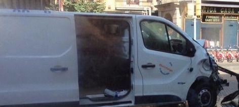 Younes Abouyaaqoub, identificado como el conductor de la furgoneta que atentó en La Rambla