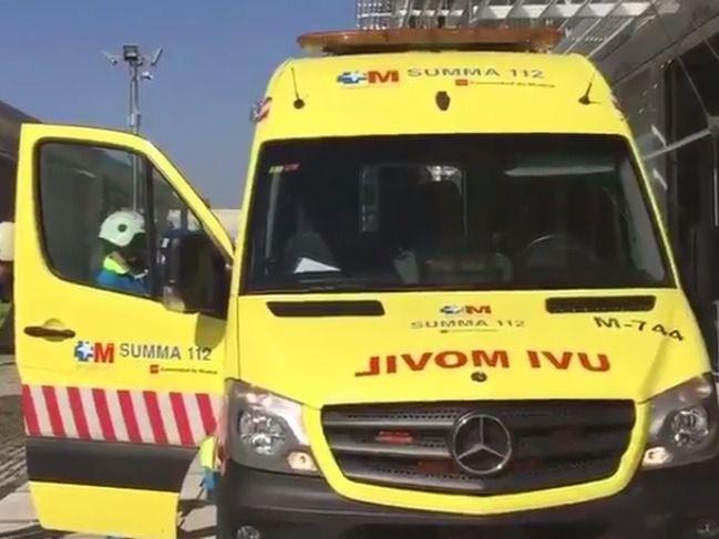 Accidente en la calle Juan Ignacio Luca de Tena