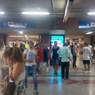 Estampida de viajeros en Atocha Renfe