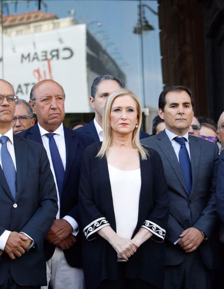 Cifuentes no irá a la manifestación de Barcelona porque no ha recibido invitación