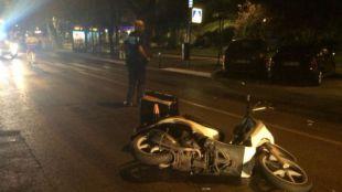 Fallece el anciano atropellado por una moto en Moratalaz