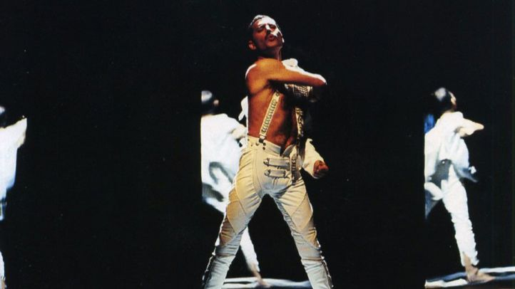 Carátula de 'Living On My Own' de Freddie Mercury