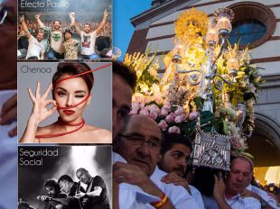 Cartel de las fiestas en honor a Nuestra Señora de la Consolación en Pozuelo.