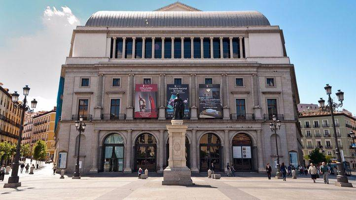 Teatro Real. Plaza Isabel II.