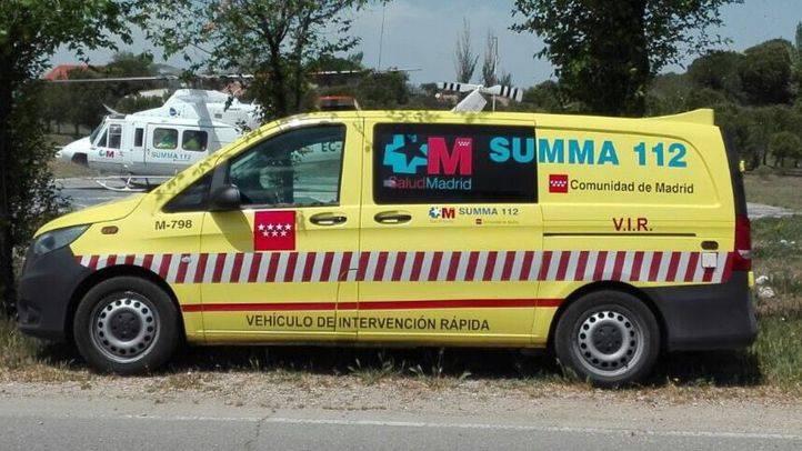 UVI Móvil de los servicios de Emergencias de la Comunidad de Madrid