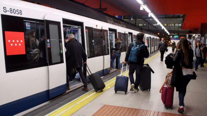 El número de viajeros de Metro aumentó un 13,25 % en julio