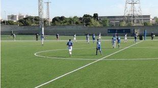 Campode fútbol La Aldehuela