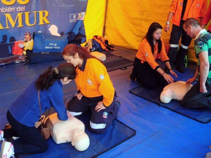 Varios centros acogen jornadas sobre primeros auxilios