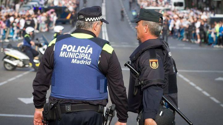 Cuerpos de seguridad de Madrid (Foto de archivo)