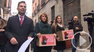 La entrega de los hijos de Juana Rivas aumenta la polémica