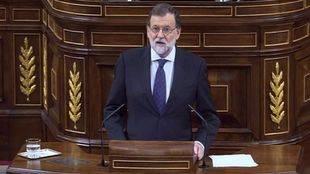 Rajoy reta a la oposición a otra moción de censura