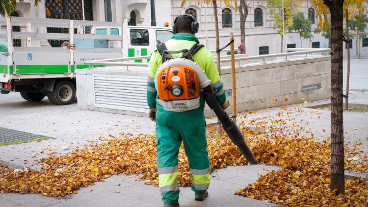 Duplicadas las calles que se limpiarán diariamente en Centro, Chamberí y Tetuán