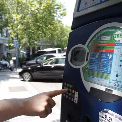 Parquímetro de Madrid (Archivo)