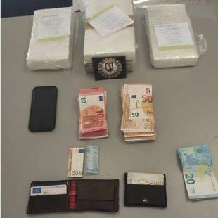 Dos detenidos en Ciudad Lineal con 4 kilos de cocaína