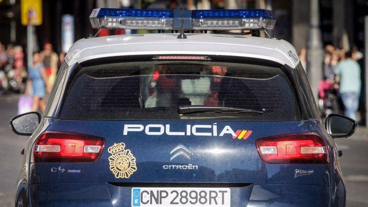 Coches patrulla de la Policía Nacional. (Archivo)
