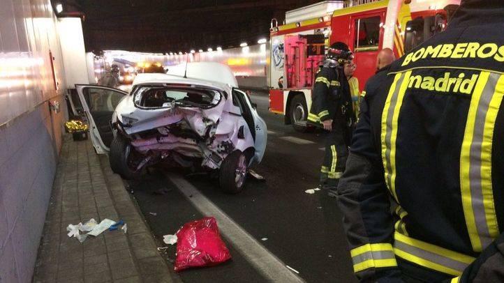 Herido tras chocar con un coche dado a la fuga