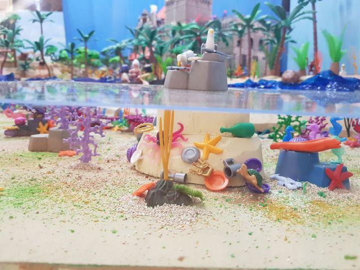 El ''País de Nunca Jamás', hecho de clicks de Playmobil