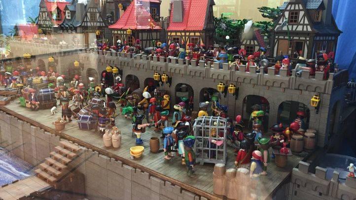 El 'País de Nunca Jamás' recreado con clicks de Playmobil