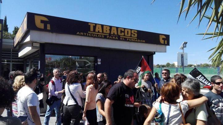 Barajas se concentra en apoyo a los refugiados saharauis