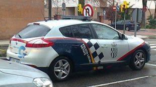 Coche de la Policía Municipal de Getafe