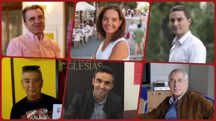 Cadidatos a las primarias del PSOE-M