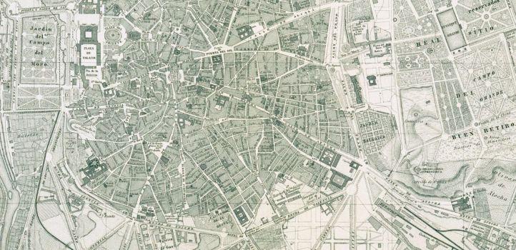 En 1860 comenzó la construcción del ramal Principe Pío-Atocha